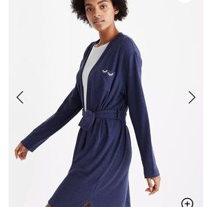 Madewell Embroidered Robe